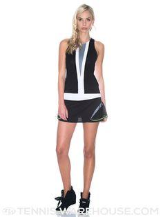 Lucky In Love Women's Fade Mesh Peplum Skirt