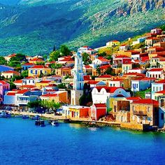 Halki ,Greece Beautiful World, Beautiful Places, Amazing Places, Beautiful People, Oh The Places You'll Go, Places To Visit, Places In Greece, Greece Islands, Adventure Is Out There