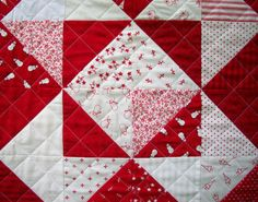 Classic red and white for Christmas.  So cute.  Snowman Table Runner Wall Hanging Winter by atthebrightspot