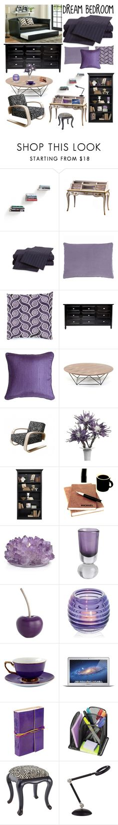 """""""My Dream Bedroom"""" by saifai ❤ liked on Polyvore featuring interior, interiors, interior design, home, home decor, interior decorating, Umbra, ExceptionalSheets, Designers Guild and Baxter Designs"""