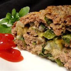 Rocambole de carne recheado com espinafre @ http://allrecipes.com.br