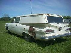 Rare & Rusty: 1959 Chevrolet Sedan Delivery   Barn Finds   Chevrolet