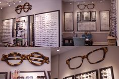 Wall art for Sweetgrass Eyewear in North Carolina. Check out more stuff like this at francesscholz.com