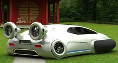 Yuhan Zhang's Aqua is the Personal VW Hovercraft Concept of Tomorrow - Carscoop