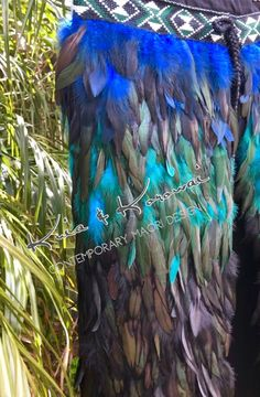 """Te Moana"" Adults Full Feather Cloak Coque Feathers, Moana, Cloak, Your Design, Art Pieces, Delicate, Things To Come, Vibrant, Colours"