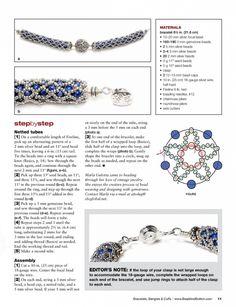 Схемы: Bead&Button - Bracelet Bangles