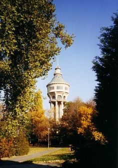 19 Things to Do in Budapest - The water tower on Margaret Island