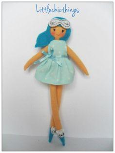 Felt doll by Littlechicthings