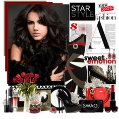 She's a fashion star, created by littlesheri on Polyvore