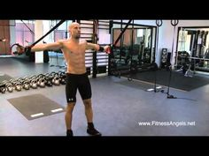 Full body extreme suspension trainer interval workout: routine 2 - YouTube