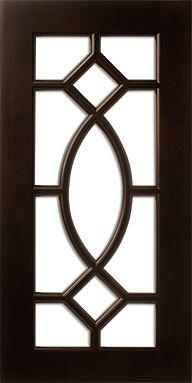 Cherry Cabinet Door frame with WalzCraft Mullion (Muntin) Pattern Wooden Window Design, Window Grill Design Modern, House Window Design, House Front Design, Wood Design, Cabinet Door Designs, Cabinet Door Styles, Kitchen Cabinet Design, Cabinet Doors