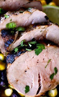 Tequila Lime Pork Tenderloin