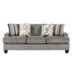 Yvette Steel Sofa | Nebraska Furniture Mart