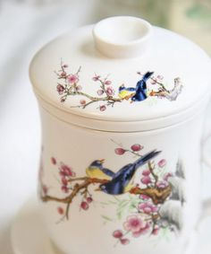 bone china magpie cup