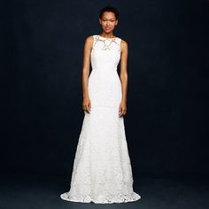 J.Crew - Heloise gown- If I didn't already have my dress, I might seriously be tempted by this one! So lovely!!