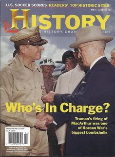 Harry Truman in History magazine
