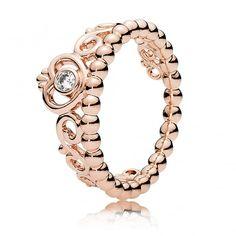 Pandora Rose My Princess Tiara Ring 180880CZ - Pandora Rings from Gift and Wrap…