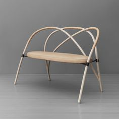 Gemland bent wood sofa Lisa Hilland Stockholm Furniture Fair