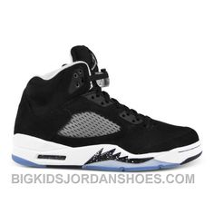 8db269e78288 136027-035 Air Jordan 5 Black Cool Grey-White (Women Men) 2016 Retro