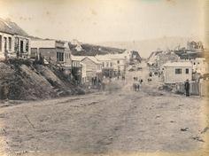 Dunedin - Princes Street - 1861 Dunedin New Zealand, The Past, America America, History, Street, Mud, Outdoor, Times, Image