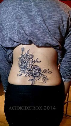 Image result for cluster of black rose tattoo