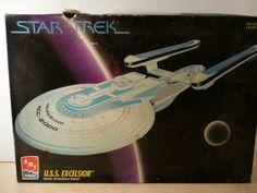Star Trek USS Excelsior Model Sealed 1994 AMT