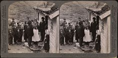 665 (71). A Nordfjord bride and groom with guests and parents at their house door, Brigsdal, Norway (8089363520) - Nordfjordbunad - Wikipedia