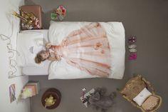 Schlafen wie im Schloß mit der Snurk Bettwäsche Prinzessin.