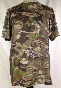 df45ac8a66d Under Armour Mens Ridge Reaper Hunting Shirt L Camo Short Sleeve UA  1259146-943  Underarmour  ShirtsTops. Ronda Shoemaker · eBay Men s Style ...