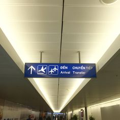 love how airport signs are always in dual language