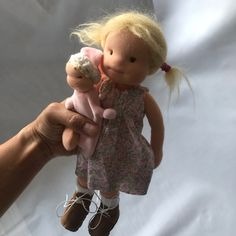 Light Hair, Sleeping Bag, Baby Dolls, Hand Sewing, Mary, Pure Products, Wool, Inspired, Handmade