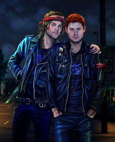 punk Sam and Dean Winchester - Petite Madame