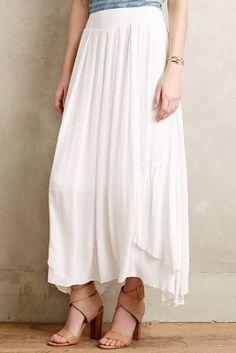 Vanessa Virginia Belen Maxi Skirt #anthrofave