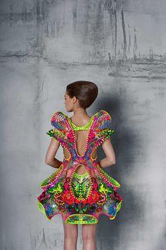 FORÆVAby Lana Dumitru & Vlad Tenu.Made with Crystals from Swarovski.Photo by Christian Tudose.