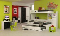 Quartos pequenos pedem uma cama multifuncional