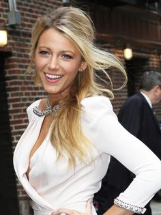 Blake Lively. #hair #makeup #beauty