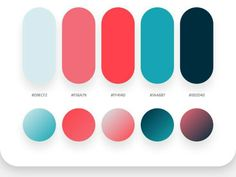 Color card-Swatches-Palette-Colorful-design-fashion-Match-Illustrated book-rgb-PANTONE NO Flat Color Palette, Colour Pallette, Colour Schemes, Color Combinations, Ui Color, Gradient Color, Colour Set, Color Card, Paleta Pantone