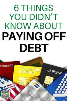 If your finances are a bit out of control, there are many things you can do to gain back stability. Paying off debt is an essential part of getting your financial life in order. While it may be overwhelming at first, do your research and take it one step at a time. I'm sharing 6 things you didn't know about paying off debt to help you on your financial journey.  #payoffdebt #financiallife #yourmoneygeek Pay Debt, Debt Payoff, Money Tips, Money Saving Tips, Managing Money, Budget Template, Get Out Of Debt, Debt Free, Money Management