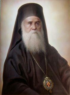 Saint Nektarios of Aegina Church Icon, Pray Always, Christian Religions, Byzantine Icons, Orthodox Christianity, Orthodox Icons, Just Smile, Religious Art, Miraculous