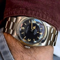 Diesel Watches For Men, Vintage Watches For Men, Vintage Rolex, Longines Watch Men, Relic Watches, Mens Digital Watches, Watch Deals, Rolex Explorer, Watches Photography