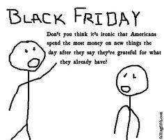 Black Friday Irony