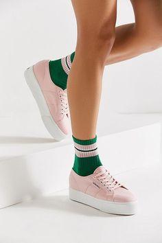 Slide View: 2: Superga Pastel Platform Sneaker