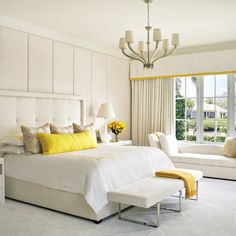 Berry Hues Pervade A Jupiter Home's Posh Interiors Yellow Tile, Florida Design, Linen Sofa, Home Inc, Interior Design Magazine, Amazing Spaces, Bed Design, Home Builders, Living Area