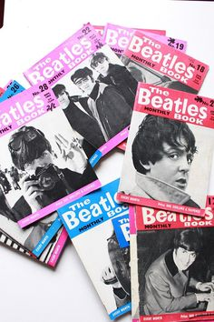 25 Original The Beatles Book Monthly issues 1964 to 1966