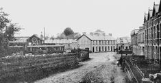 Ballyclare Memory lane with precious memories Old Images, Old Photos, Historical Images, Train Station, Far Away, Northern Ireland, Beautiful Places, Old Things, Street View