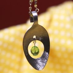Look What I Made with a Dremel! – How to Make a Spoon Pendant | Craftster Blog