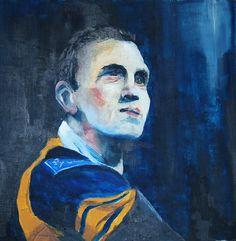 Kevin Sinfield, Leeds Rhinos. Leeds Rhinos, Painting, Art, Art Background, Painting Art, Kunst, Paintings, Performing Arts, Painted Canvas