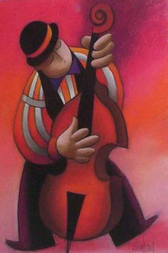 """The Cellist"" ~ by George Callaghan"