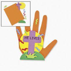 He Lives Handprint Kit
