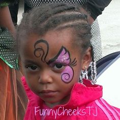 Face Painting #fall harvest #festival #butterfly